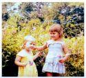 Me...age 2 Pamela (my sis)...age 4