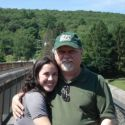 With my daughter in PA, 2009