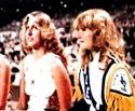 KHS Friday Night Football Game Sidelines 1979 - Sharon Wells & Susan Medsger