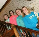 My daughter and 3 granddaughters
