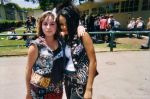 DJ and DANIELA DURING JUNIOR YEAR? RIGHT NEAR THE OLD OFFICE, haha.