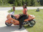 "Motorcycle ""Busa Girl"""