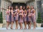 Kastle' Cannon's CHS Bridesmaids- Jen, Mary and Daniella!
