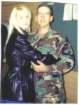 Don and I before going to Iraq