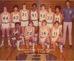 Basket Ball Team of 1974-1975