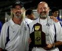 Coaches Paul Brown and Bruce Cummings.