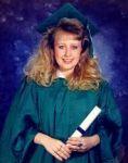 Brandi Evans Graduation photo