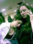 Vickki and Paige
