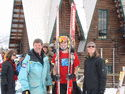 Gregg, Zeb, Michelle- Nordic Combined Jr. Olympics, Steamboat Springs, CO '09