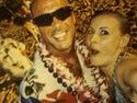 My girlfriend amd I on vacation in Hawaii