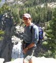 John Muir trail above Nevada Falls in Yosemite_2012