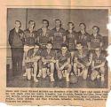 SHS '61 Basketball team