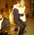 My boyfriend George at my sister wedding 1972
