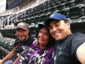 Doug, Me and my nephew Matt at a Minnesota Twins game.