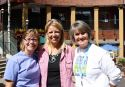 Kay Kaiser, June Keogh, Karla Anderson still friends after all these years. :)