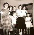 1956 BD party age 16.  Denmons and McCrorys