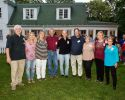 This is The Towanda Class of 1972 Reunion Committee at the Inn on Quarry Glen near Hornbrook at their 45th Reunion.