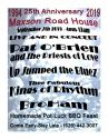 Maxson Road House 25th Anniversary Party and unofficial EMHS All-Class Reunion Sept 7th 4 pm - 12midnight - No Cover