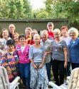 Some of the class from the 50th reunion