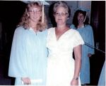 Me & my mom, and Carrie in the background