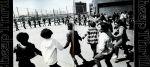 Oustside folk dancing 1974 JDHS Brooklyn NY NYC